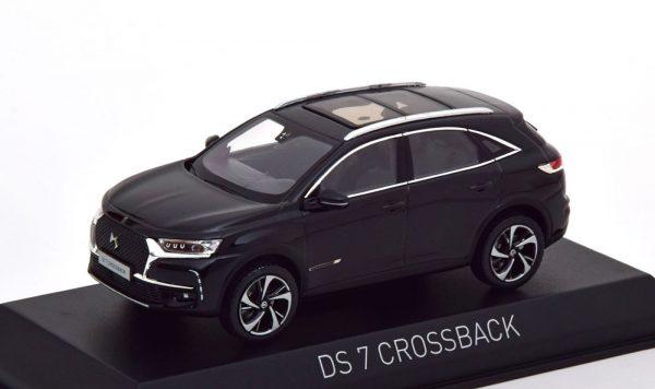 Citroen DS 7 Crossback 2017 Zwart 1-43 Norev