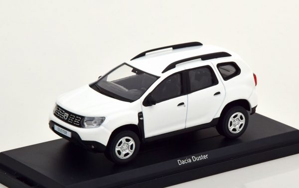 Dacia Duster 2018 Wit 1-43 Norev