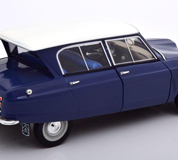 Citroen Ami 6 1965 Blauw / Wit 1-18 Norev
