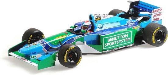 Benetton Ford B194 J.Verstappen 3RD Place Hungarian GP 1994 Minichamps 1-18 Limited 222 Pieces