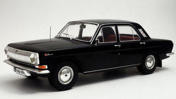 Volga M24 1967 Zwart 1-18 MCG Models