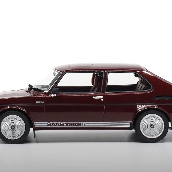 Saab 99 Turbo 1978 Cardinal Red 1-18 DNA Collectibles Limited 320 Pieces