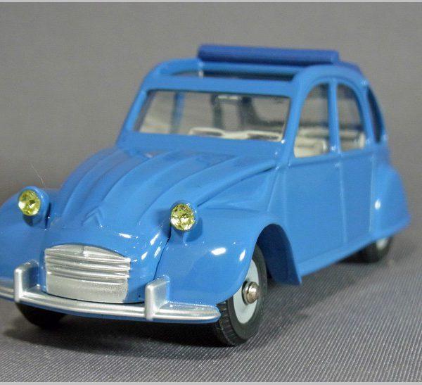 Citroen 2CV 1966 Blauw 1-43 Dinky Toys ( Atlas )