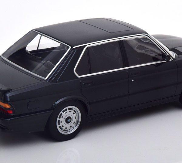 BMW M535i ( E28 ) 1986 Zwart Metallic 1-18 Norev