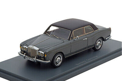 Bentley Corniche 1971 Donkergrijs Metallic 1-43 Neo Scale Models Limited 300 pcs.