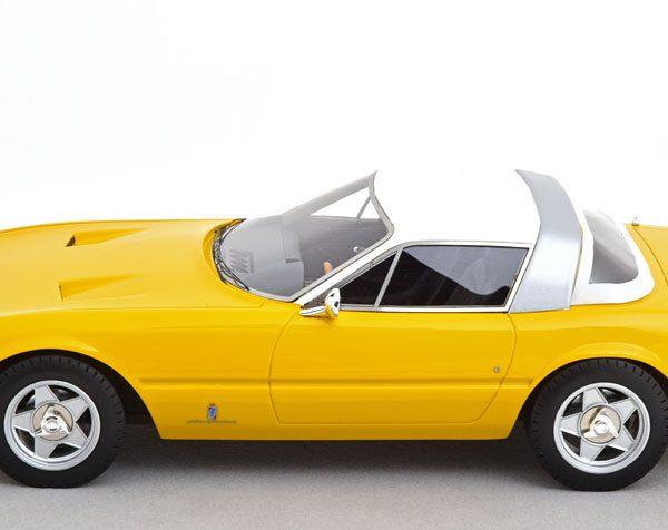 Ferrari 365 GTB/4 Daytona Coupe Speciale 1969 Modena Yellow 1-18 Tecnomodels Limited 70 Pieces