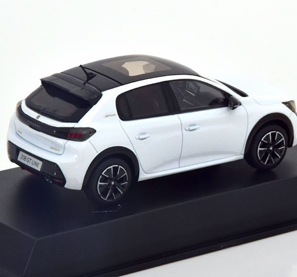 Peugeot 208 GT Line 2019 Wit Metallic 1-43 Norev