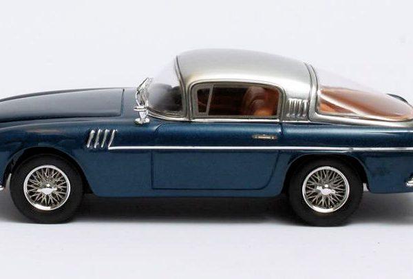 Aston Martin DB2/4 Vignale ZKH King Baudouin 1954 Blauw metallic/Zilver 1-43 Matrix Scale Models Limited 408 pcs.