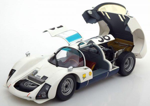 Porsche 906K #58 24H Le Mans 1966 Drivers: Kiass/Stommelen 1-18 Wit Minichamps Limited 300 pcs.