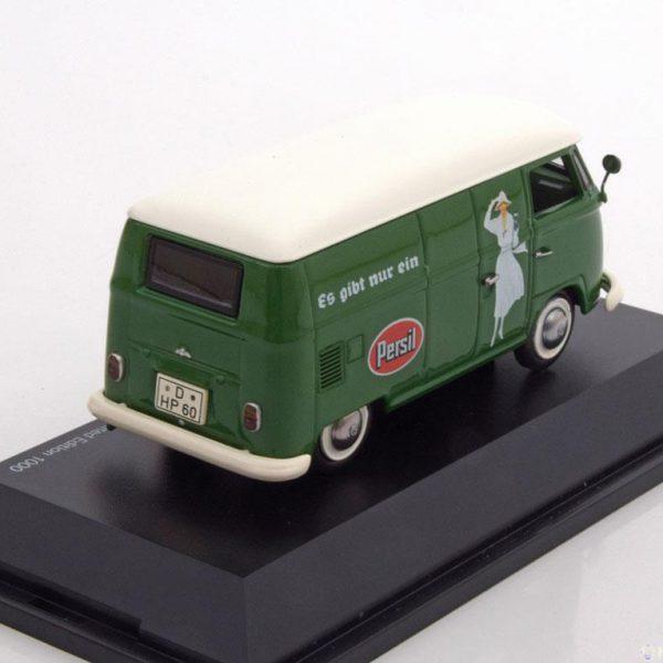 """Volkswagen T1 Bus """"Persil"""" Groen 1-43 Schuco Limited 1000 Pieces"""