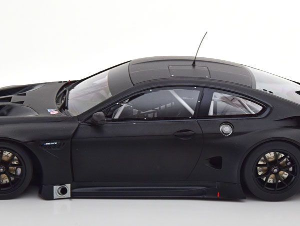 BMW M6 GT3 Plain Body Version 2016 Mat Zwart 1-18 Minichamps Limited 224 Pieces