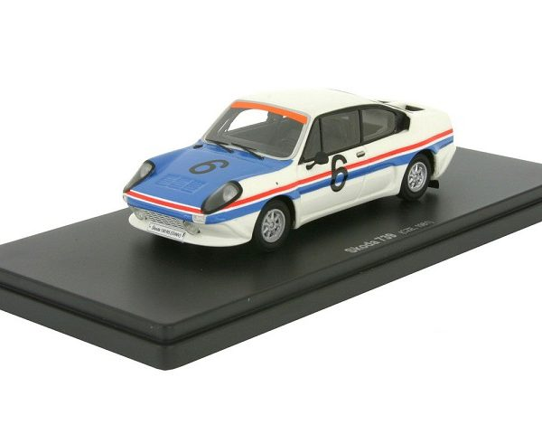 Skoda 739 Rallye Racing Protype 1981 Wit / Blauw / Rood 1:43 Autocult Limited 333 Pieces
