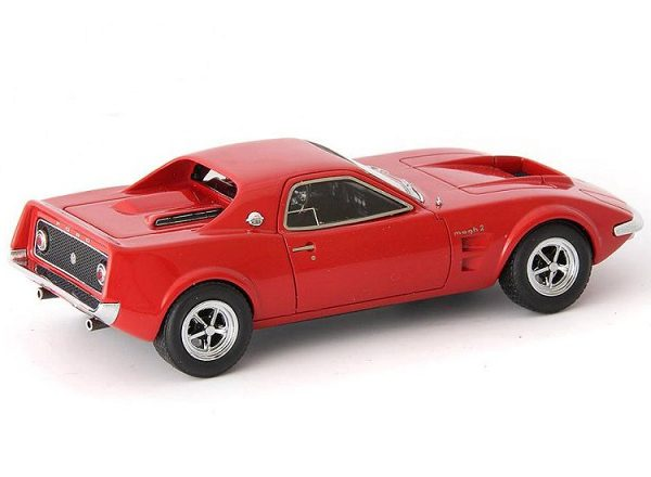 Ford Mach 2 Concept 1967 Rood 1-43 Autocult Limited 333 Pieces