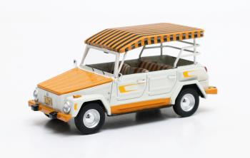 "Volkswagen ""the Thing"" Hawaïan Edition 1979 Wit/Oranje 1-43 Matrix Scale Models Limited 500 pcs."