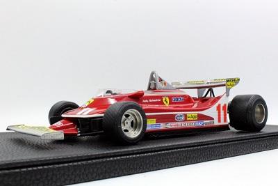 Ferrari 312-T4 #11 Jody Scheckter World Champion 1979 ( Short Spoiler ) 1:18 GP Replicas Limited 250 Pieces