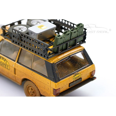 "Range Rover ""Camel Trophy"" Papua New Guinea 1982 ( Dirty Version ) Bruin 1-43 Almost Real EAN 6970342042324"
