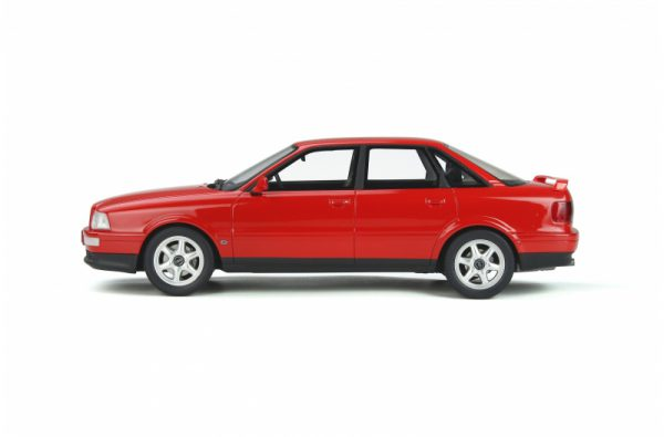 Audi 80 Quattro Competition 1994 Laser Rood 1-18 Ottomobile Limited 3000 Pieces