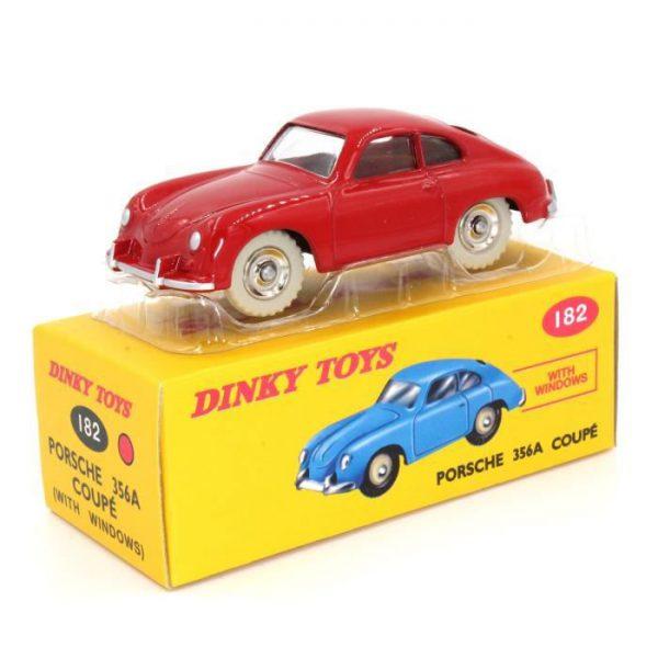 Porsche 356A Coupe Rood 1-43 Dinky Toys ( Atlas )