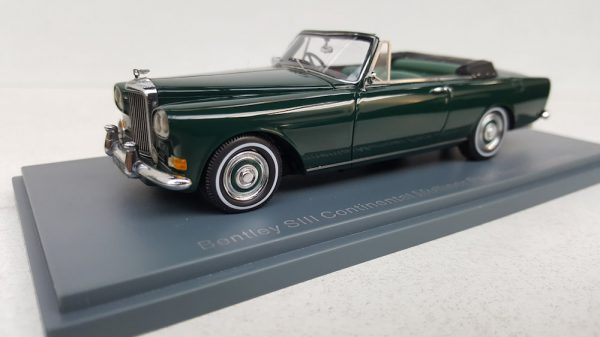 Bentley SIII Continental Mulliner Park Ward Convertible 1-43 Groen Neo Scale Models