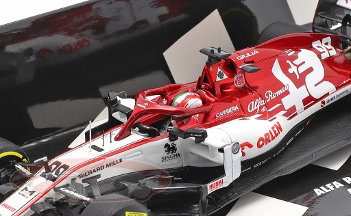 Alfa Romeo Racing Orlen C39 Antonio Giovinazzi 2020 Launch Spec. 1-43 Minichamps Limited 180 Pieces