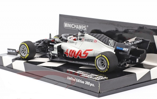 Haas F1 Team VF-20 Kevin Magnussen 2020 Launch Spec. 1-43 Minichamps Limited 300 Pieces