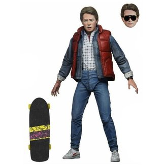 Back to the Future: Ultimate Marty McFly Afmeting 7 inch/ 17 cm Neca