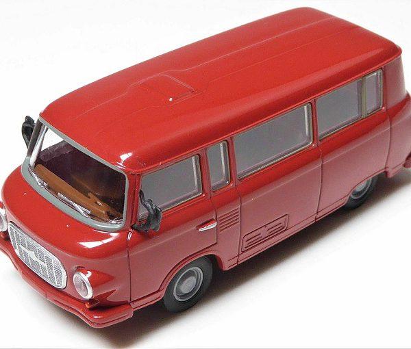Barkas B 1000 Bus Rood 1-87 Brekina