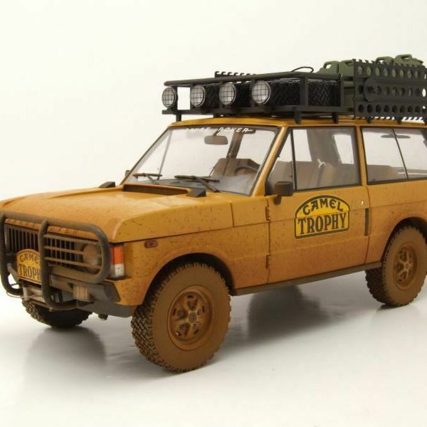 """Range Rover """"Camel Trophy"""" Papua New Guinea 1982 Dirty Version 1-18 Almost Real"""