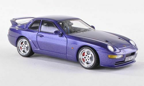 Porsche 968 Turbo S 1993 Paars 1-43 Neo Scale Models