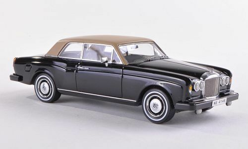 Bentley Corniche 1982 Zwart/Beige 1-43 Neo Scale Models