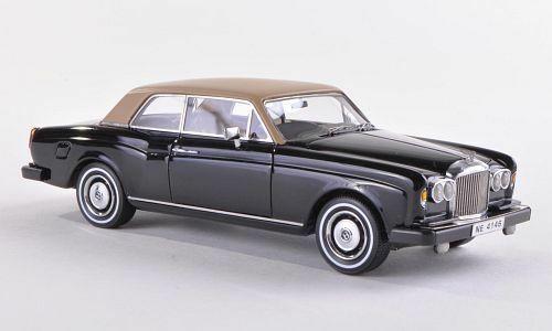 Bentley Corniche 1982 Zwart/Beige 1-43 Neo Scale Models