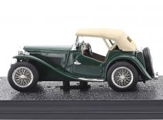 MG TC 1946 Groen met Softtop 1:43 Vitesse