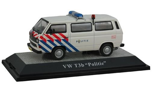 Volkswagen T3b Politie Oude Striping 1-43 Premium Classixxs Limited 500 pcs.