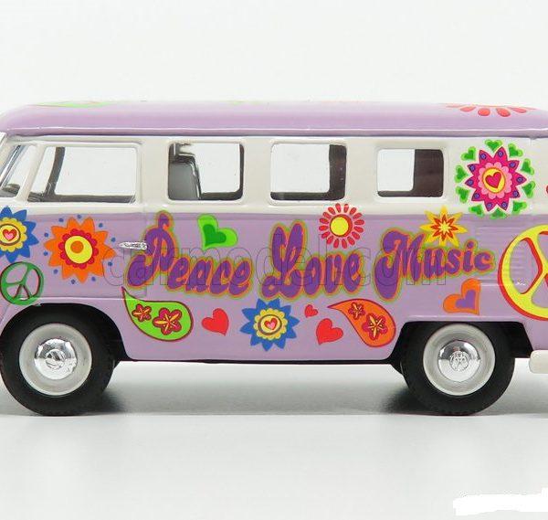 "Volkswagen T1 Camper ""Peace, Love & Music"" 1960 1-43 Corgi"