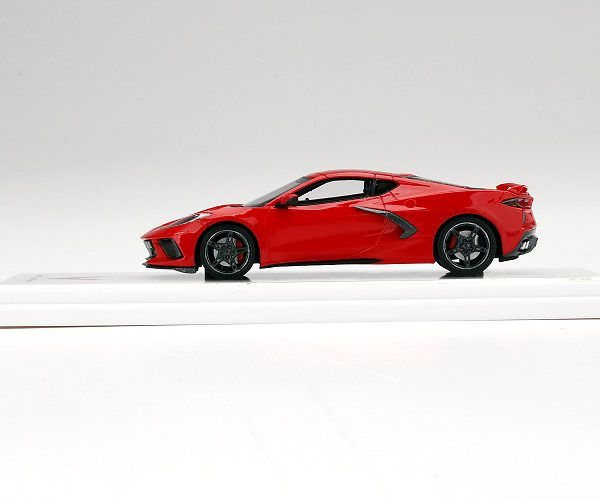 Chevrolet Corvette C8 Stingray 2020 Torch Red 1-43 True Scale Miniatures