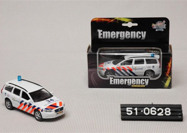 "Volvo V70 Politie Nederland ""Light and Sound"" 1-36 Kids Globe Traffic"