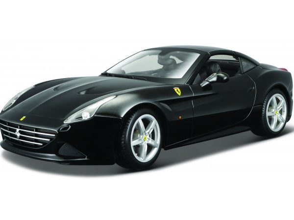 Ferrari California T ( Closed Top ) 2014 Zwart 1-18 Burago
