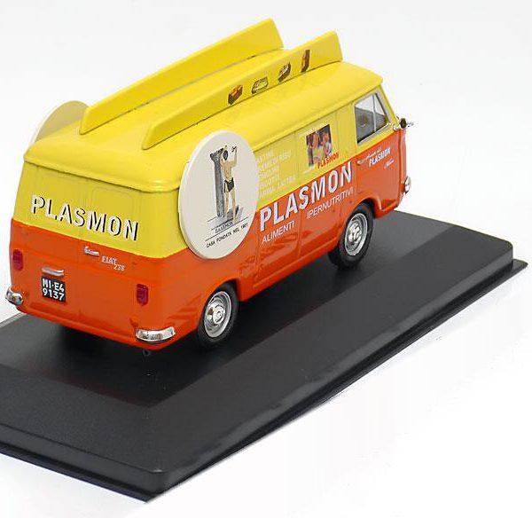 "Fiat 238 ""Plasmon"" 1967 Oranje / Geel 1-43 Altaya"