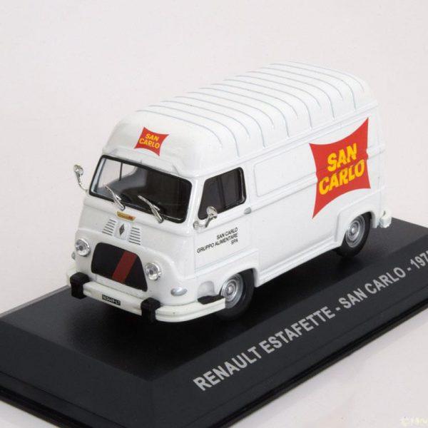"Renault Estafette ""San Carlo"" 1975 Wit 1-43 Altaya"