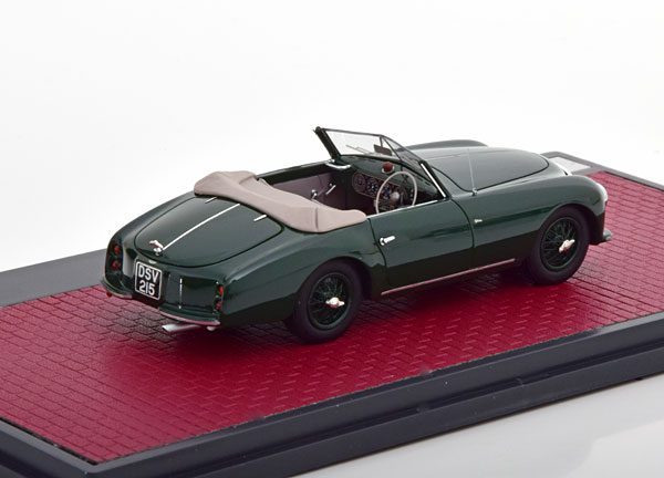 Aston Martin DB2 Vantage Drophead Coupe By Graber ( Open ) 1952 Groen 1-43 Matrix Scale Models Limited 408 Pieces ( Resin )