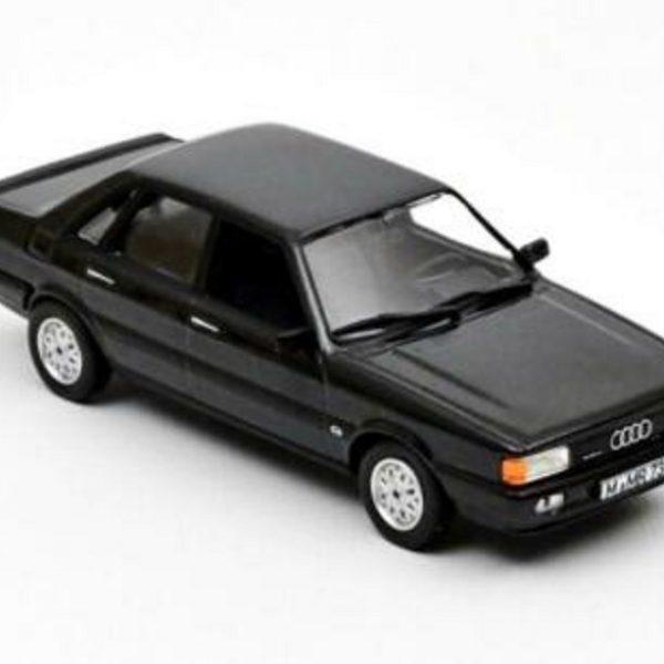 Audi 80 Quattro 1985 Donker Grijs Metallic 1-43 Norev