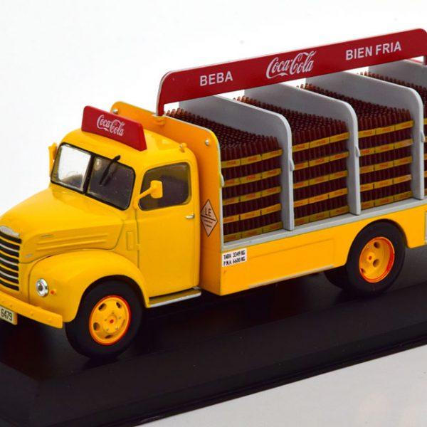 Ebro B-45 1962 ( Coca Cola ) Geel / Rood 1-43 Altaya