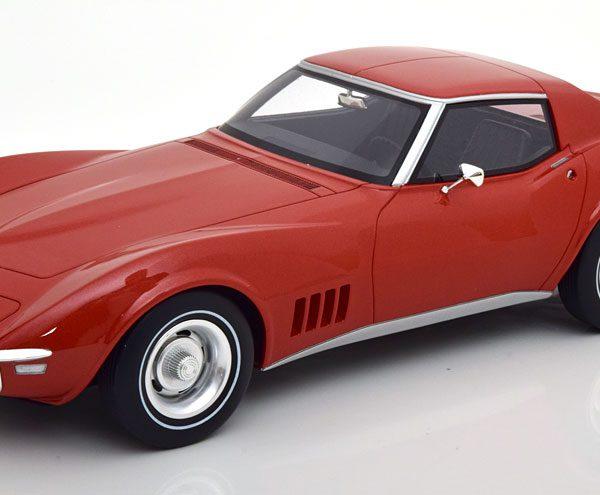 Chevrolet Corvette C3 1968 Oranje Metallic 1-12 GT Spirit Limited 299 Pieces ( Resin )