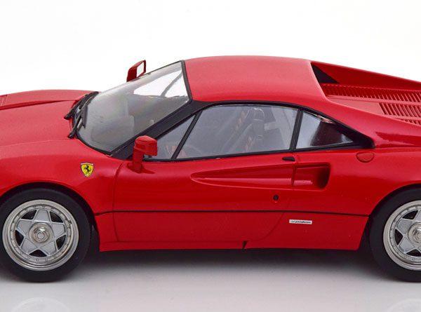 Ferrari 288 GTO 1984 ( Upgrade ) Rood / Zwart Interieur 1-18 KK Scale Limited 1500 Pieces