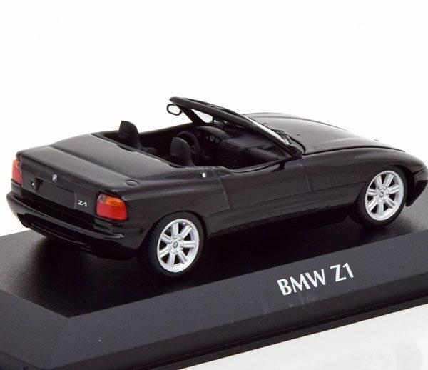BMW Z1 Roadster 1991 Zwart 1-43 Maxichamps