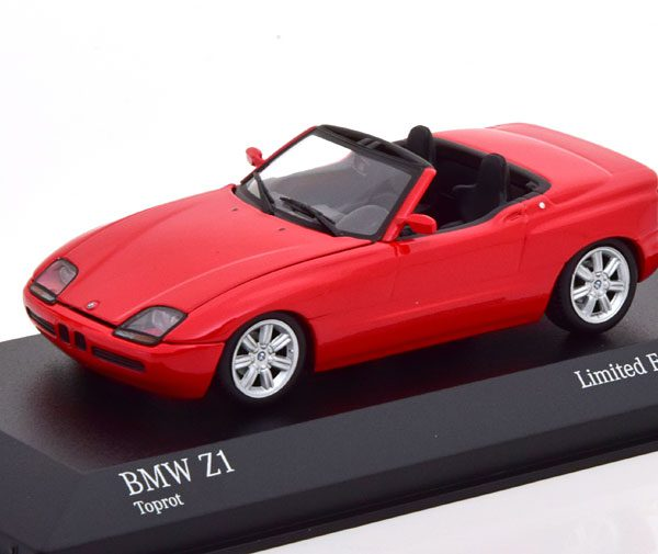 BMW Z1 1991 Rood 1-43 Minichamps Limited 500 Pieces