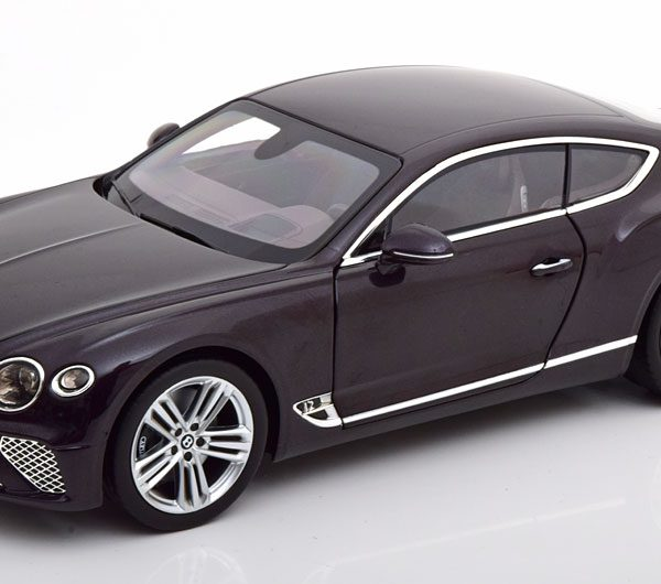 Bentley Continental GT 2018 Lila Metallic 1-18 Norev