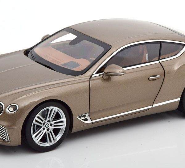 Bentley Continental GT 2018 Dark Cashmere Metallic 1-18 Norev