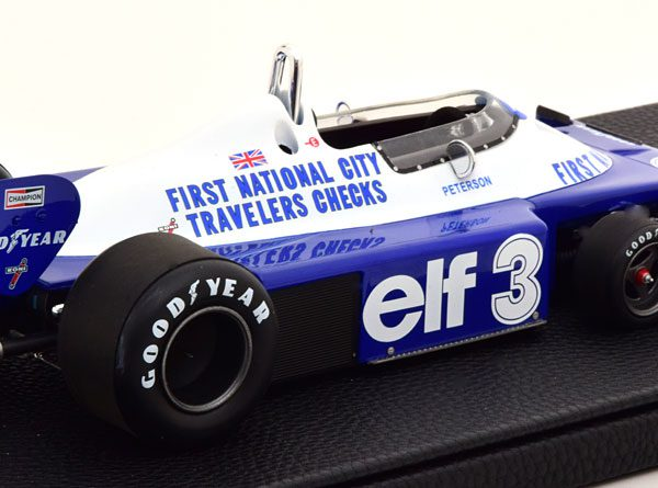 Tyrrell Ford P34 1977 ( 6-Wheeler ) Peterson 1-18 GP Replicas Limited 500 Pieces ( Resin )