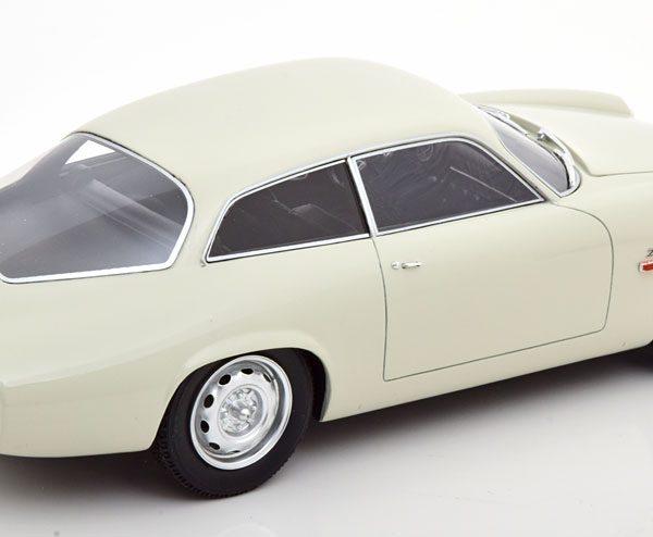Alfa Romeo Giulietta Sprint Zagato Coda Tronca 1961 Wit 1-18 Cult Scale Models ( Resin )